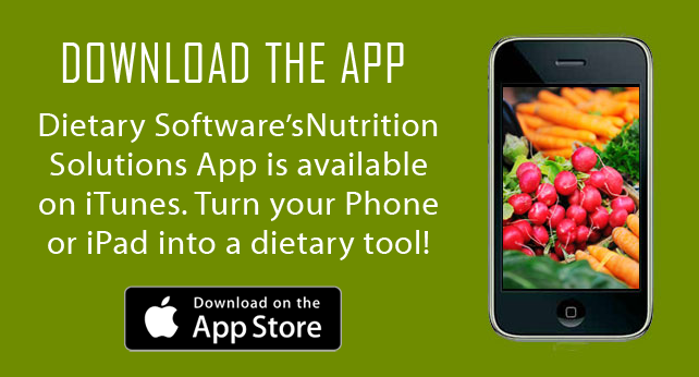 Dietary Software Application
